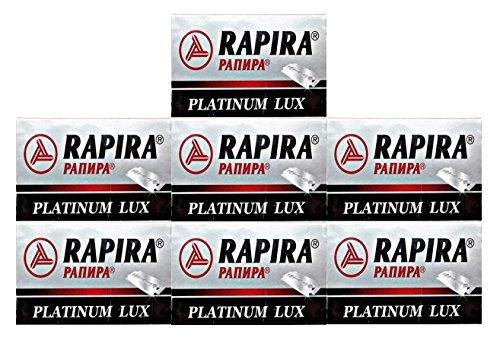 35 RAPIRA PLATINUM LUX Rasierklingen