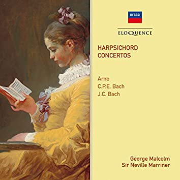 Arne, C.P.E. Bach & J.C. Bach: Harpsichord Concertos