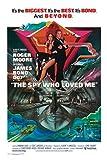 1art1 - Póster de James Bond 007'La espía Que me amó (91 x 61 cm)