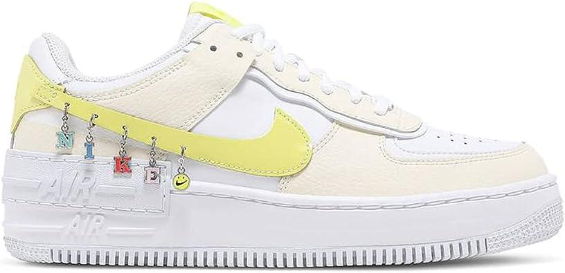 Amazon.com | Nike Women's Shoes Air Force 1 Shadow SE Pale Ivory ...