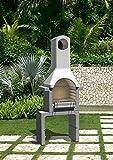 Giardino Griglie Santander muratura BBQ