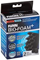 Helps create clean and healthy water conditions for fish and plants Dense structure ideal for trapping small particles Intricate, porous network provides vast surface area to facilitate growth of beneficial bacteria Convenient 2-pack format