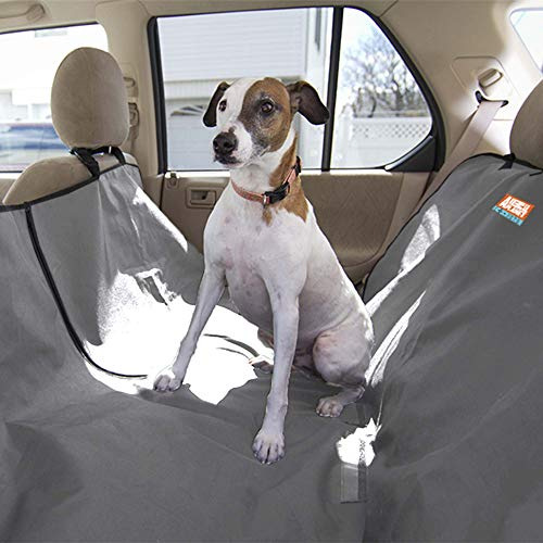 Animal Planet Water Resistant Hammock Car Seat Cover for Pets, Grey