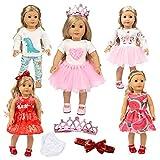 American Doll Clothes 18 Inch Unicorn Girl...