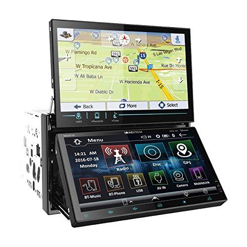 Soundstream VRN-DD7HB - Receptor estéreo de coche con Bluetooth doble DIN