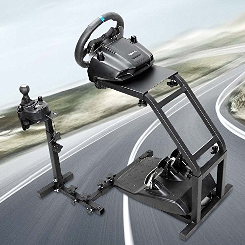 Pro Racing Wheel Simulator Stand - for Logitech G29/G27/G25/G920 Steering Gaming Wheel Stand Without Wheel and Pedals