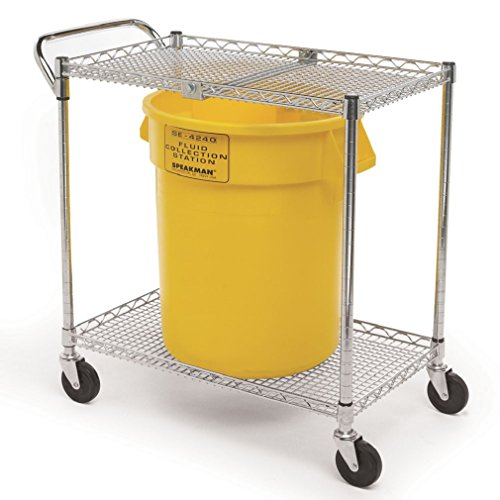 Speakman SE-4360 GravityFlo Portable Eyewash Cart for Emergency Eyewashes