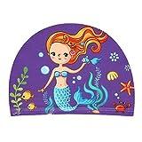 BGJ 2-5 años Gorros de natación para niños y niñas 2019 Gorros de natación de Playa para niños y niños pequeños Gorros de Piscina de Dibujos Animados