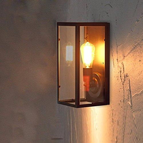 YU-K antieke stijl wandlamp industrieel licht Corridor licht-tijdschakelaar glazen kast slaapkamer bed perfect voor thuis bar en restaurant cafe club