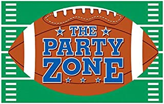 amscan Cool Football Giant Vinyl Party Sign Banner, 78