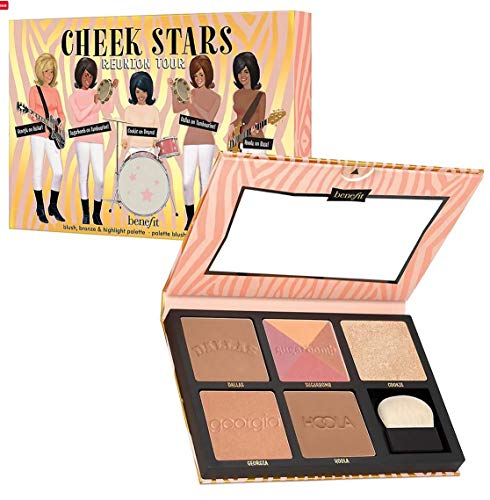 BENEFIT Cheek Stars Reunion Tour Palette - Blush, bronze & highlight palette