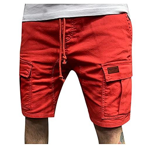 Nuevo 2021 Pantalones Cortos Hombre Verano Casual Moda trabajo Corta Pantalones Pants Deporte Jogging Pantalon Fitness Chandal Hombre Ropa de hombre Cómodo Pantalones de Trekking Pantalones de playa