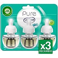 Air Wick Nenuco - Ambientador eléctrico, recambio, 3 unidades x 19 ml, total 57 ml