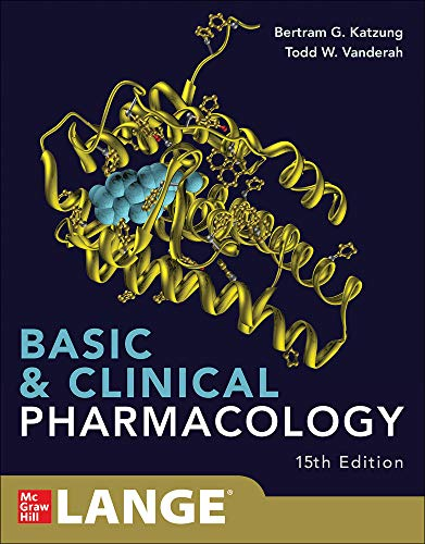 Compare Textbook Prices for Basic and Clinical Pharmacology 15e 15 Edition ISBN 9781260452310 by Katzung, Bertram,Trevor, Anthony