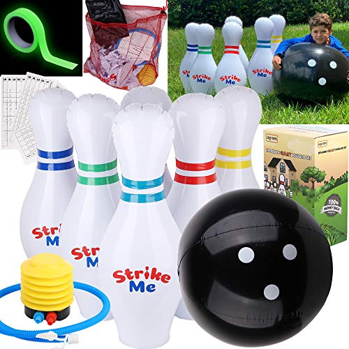 Giant Inflatable Kids Bowling Se...