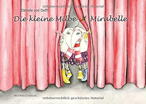 Die kleine Milbe Mirabelle, Gesamtkunstwerk mit Lupe und CD