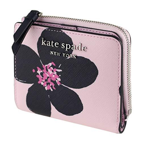 Kate Spade New York Small L-Zip Bifold Wallet Grand Flora