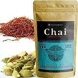 Té Chai Latte en Polvo instantáneo GIRNAR 300g - Te Cardamomo y Azafrán Chai - Chai Tea Latte - Chai Te - Chai Latte Powder - Te Negro Chai - Chai Cardamomo y Azafrán - Te Chai - Chai Latte