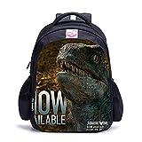 KKASD Mochilas escolares dinosaurios mochila escolar 3D Godzilla con diseño de dinosaurios para niños, mochila escolar para niños (B05)