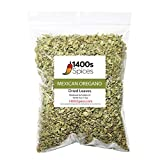 4oz Dried Mexican Oregano. Perfect for Taco Seasoning, Mexican Food, Tamales, Meats, Enchiladas, Cheese, Salads. Rich Flavor Spices for Mexican Recipes. Heat-Sealed Resealable Bag.