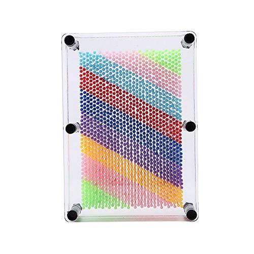 3D Pin Art Juego de Mesa Novela Pin Art Inspire Imagination Escritorio...