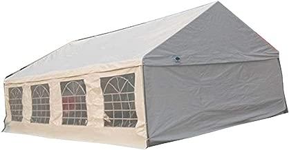 Shade Tree 20' x 30' Heavy Duty Event, Party, Wedding Tent, Canopy, Carport, w/Sidewalls