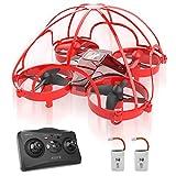ATOYX AT-66D Drone Enfant Hélicoptère Télécommandé avec Mode sans Tête Mini Drone avec Télécommande Jouet et Cadeau pour...