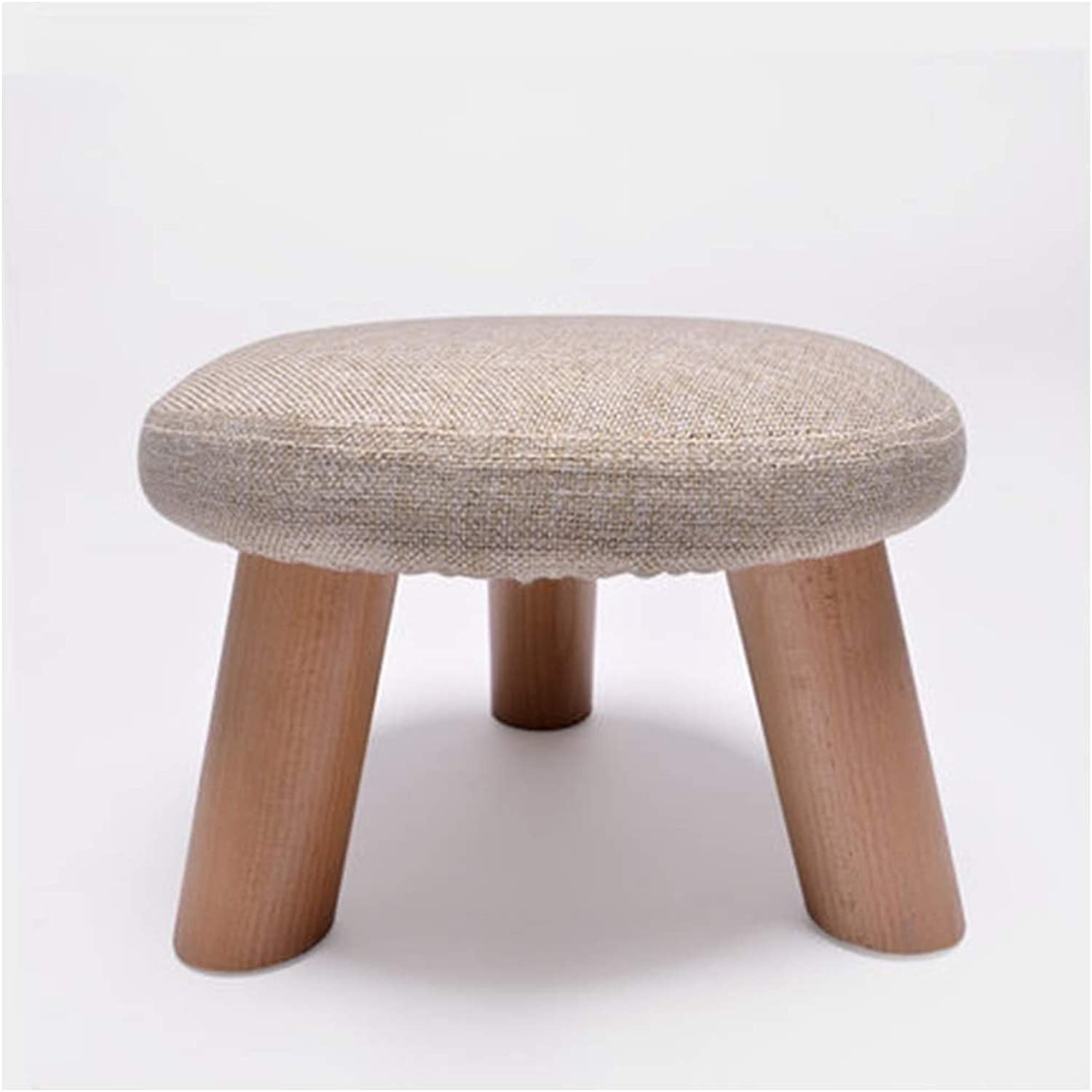 B.YDCM Wooden Bench- Fashion shoes Bench Stool Solid Wood Footstool Stool Stool Stool Fabric Bench Sofa Bench Coffee Table Stool - Wood Bench (color   A, Size   Small)