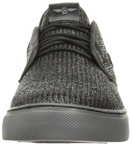 Creative Recreation Men's Lacava q Fashion Sneaker, Black Pewter Woven, 11 M US
