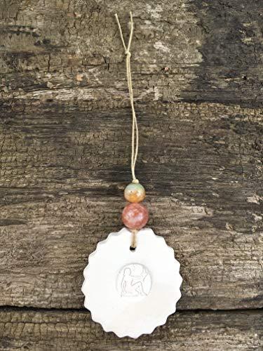 Virgo Zodiac Decor, Essential Oil Diffuser Ornament, Meaningful Birthday Gifts for Women, Men, Teens, Best Friend