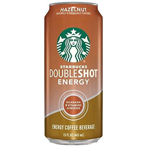 Starbucks Doubleshot Energy Coffee Beverage (Hazelnut, 12)