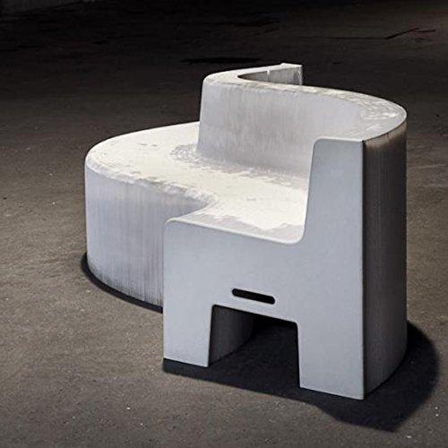Flexible Love sofá plegable de cartón White 16