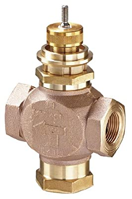 Johnson Controls VG7842GT Three-Way Globe Valve Cv: 4.6 Size: 1/2 in. Valve Type: Mixing by Johnson Controls