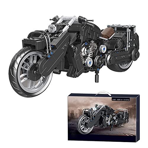 Tewerfitisme Tecnica moto modello 1012 + pezzi Pesanti Off Road Moto giocattolo di costruzione compatibile con Lego Technic