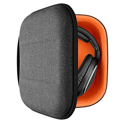 Geekria Funda para Auriculares HD599, HD598CS, HD280PRO, HD 599 SE Headphones, Estuch Rígido de Transporte, Viaje Bolsa