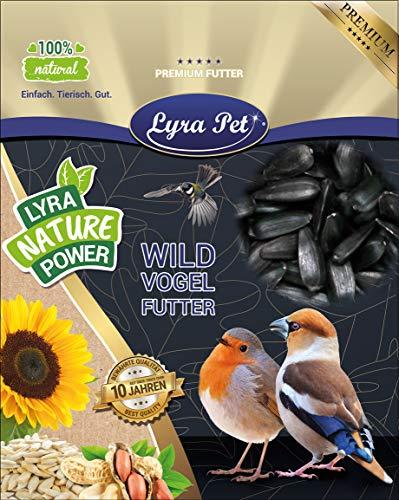Lyra Pet® 25 kg Sonnenblumenkerne schwarz HK Deutschland Wildvogelfutter Vögel Winterfutter Vogelfutter Wildvögel