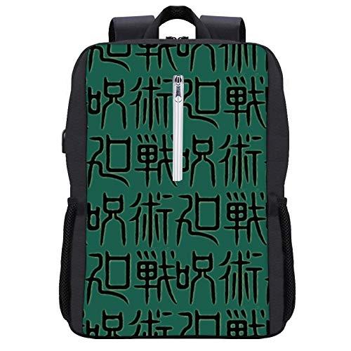 C-onjure - Mochila de estilo campus de la parte posterior de la mochila ajustable de alta capacidad con interfaz USB, Negro-estilo13 (Blanco) - YHYH13