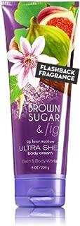 Bath & Body Works Ultra Shea Body Cream in Brown Sugar & Fig (8 oz)