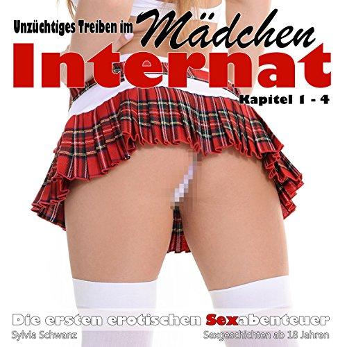 Unzüchtiges Treiben im Mädcheninternat (Die ersten erotischen Sexabenteuer 1- 4) Titelbild