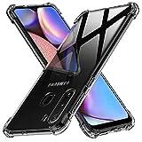 Peakally Samsung Galaxy A21 Case, Soft TPU Transparent