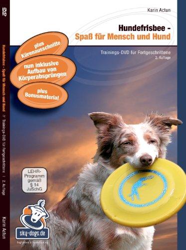 Hundefrisbee - Spaß für Mensch und Hund, Trainings-DVD für Fortgeschrittene