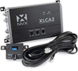 NVX XLCA2 2-Channel Line Out Converter with xBOOST Technology with Remote bass knob - Perfect for Adding a subwoofer & Amplifier to Your Factory Stereo