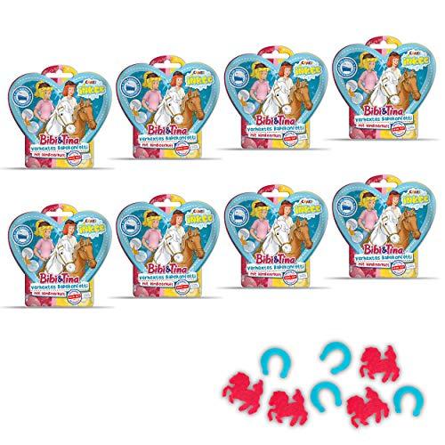 CRAZE INKEE Magisches Duftbad Badekonfetti XL Badeset BIBI & Tina Badespaß für Kinder B&T 29541, für Badewanne