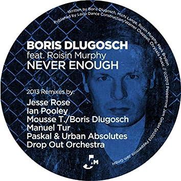 Never Enough (2013 Remixes)