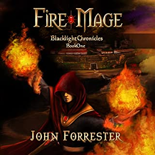 Fire Mage audiobook cover art
