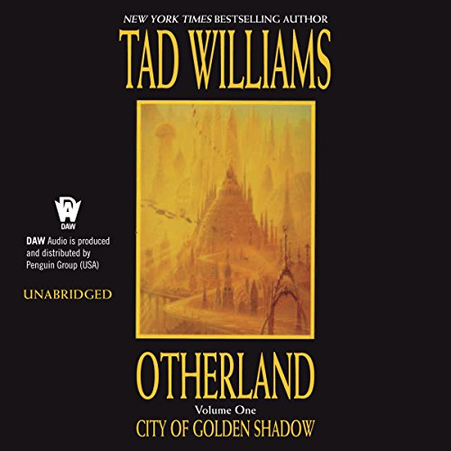 City of Golden Shadow audiobook cover art