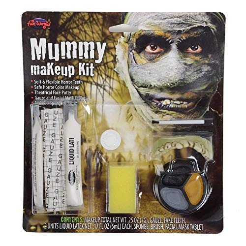 Fun World Mummy Makeup Kit Standard