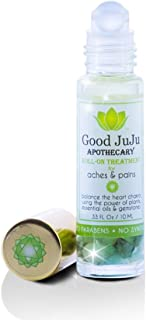 All Natural Pain Relief Roll On Oil. Topical Therapeutic Relief From Aches, Pains, Sore Muscles, Bumps, Bruises, Joint Pai...