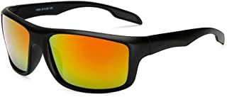 GR Mens Outdoor Riding Fishing Windproof Glasses Sports Mens Polarized UV400 Sunglasses Windshield Sunglasses Night Version for Night Driving (Color : Orange)