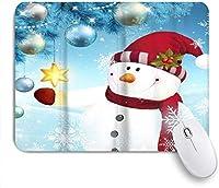 マウスパッド クリスマス雪に覆われた冬のシーン ゲーミング オフィス最適 高級感 おしゃれ 防水 耐久性が良い 滑り止めゴム底 ゲーミングなど適用 用ノートブックコンピュータマウスマット